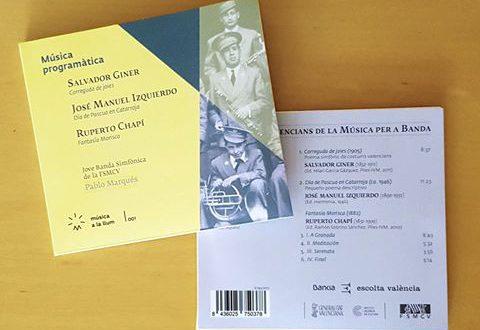 L'IVC i la Federació de Societats Musicals publiquen el segon CD de 'Música a la llum'