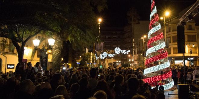 Un espectacle teatral amb cavalls de llum acompanyarà l'encesa de l'arbre de Nadal