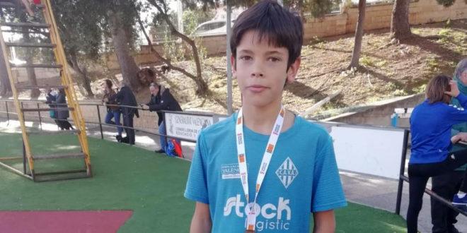 Jaume Micó campió provincial SUB12