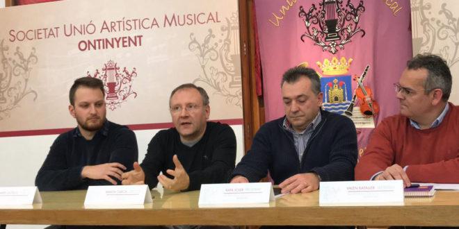 Ramón García, nou director de la Societat Unió Artística Musical Ontinyent