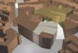 Enderrocaran dues cases per crear una nova connexió entre la Plaça Major i l'Església de Sant Miquel