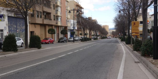 232.000 euros per millorar la seguretat i comoditat de 12 carrers d'Ontinyent
