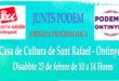 EUPV-Podem Ontinyent convoca una assemblea programàtica per a presentar una llista conjunta