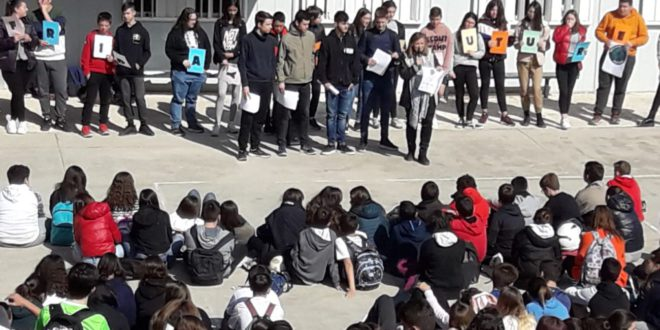 L'alumnat de l'Estació enceta una sèrie d'accions per a conscienciar-nos dels estralls que provoca el canvi climàtic