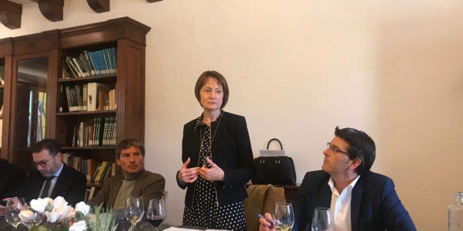 Mavi Mestre participa a les trobades empresarials de COEVAL