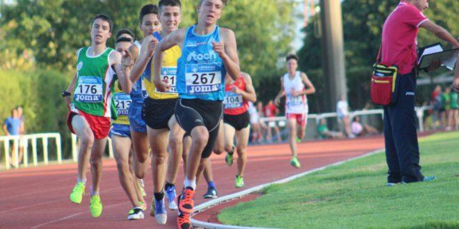 Nico Azorín setè al campionat d'Espanya en Pista Coberta