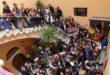 Mig centenar d'alumnes francesos d'intercanvi visiten l'Ajuntament d'Ontinyent
