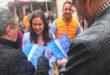 Belén Hoyo, candidata del PP, visita la Vall d'Albaida