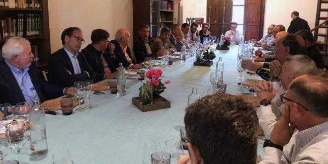 El president de CDEDELCO participa en les trobades empresarials de COEVAL
