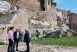 Rafa Briet visita Bocairent per conèixer les inversions de la Generalitat en el barri medieval