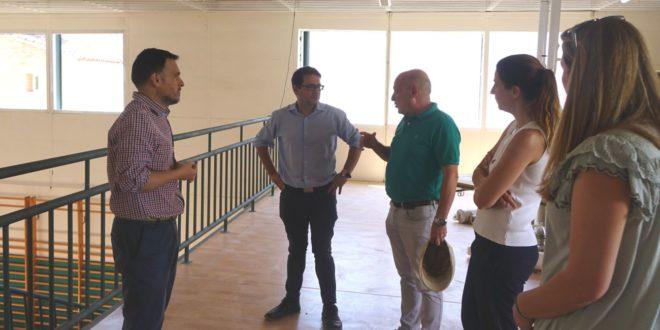 S'inicia la retirada d'amiant i es millora l'aïllament tèrmic al CEIP Carmelo Ripoll