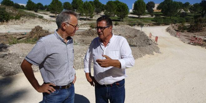 Generalitat assumeix la reparació dels 6 camins més afectats per la DANA a Ontinyent