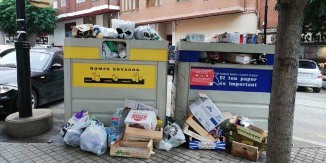 Ontinyent reclama a la Mancomunitat la millora del servei de recollida de paper