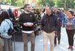 Baldoví reafirma el seu compromís amb les necessitats d'Ontinyent i la comarca en la seua visita al Mercat
