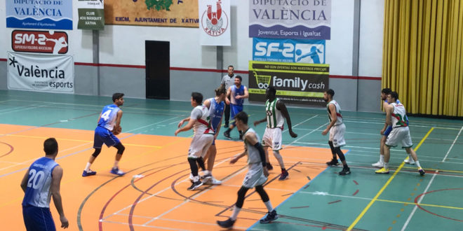 El club Martinez Valls bàsquet imparable, líder i invicte