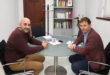 L'alcalde de Bèlgida visita la Diputació de València per a abordar possibles millores en les seues instal·lacions esportives