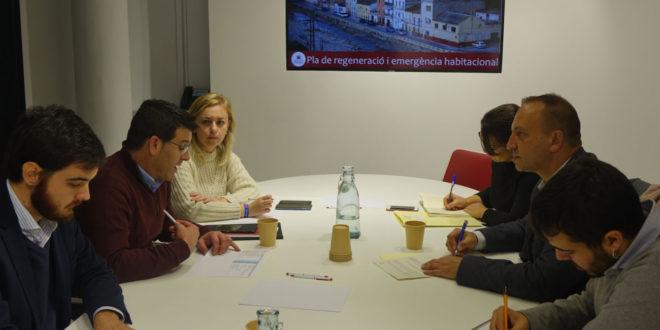 Dalmau destaca la inversió de la Generalitat per a impulsar la regeneració urbana