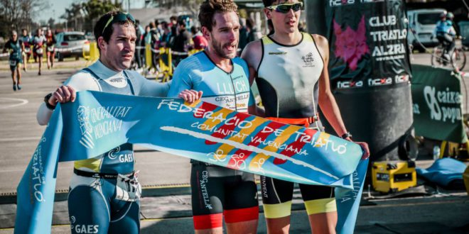 Vicent Gandia i Ion Gramage, 1r i 3r classificats al duatló d'Alzira