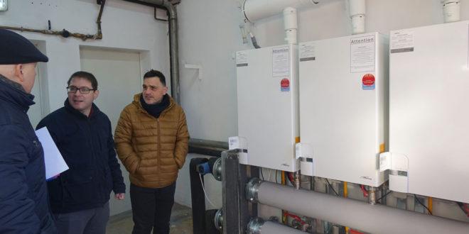 Nou sistema de calefacció al CEIP La Solana