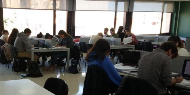 L'ús de la sala d'estudi s'ampliarà al exàmens de juny