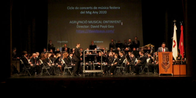 El primer concert del Mig Any fester, estrena 4 peces musicals
