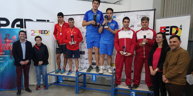 Ontinyent podria repetir en 2021 com a seu del Campionat d'Espanya de Pàdel per a Persones amb Discapacitat Intelectual