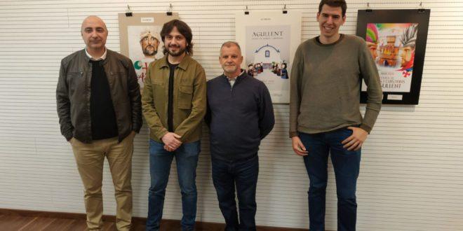 Miguel Ángel Bonilla guanya el primer premi del concurs de portades de Moros i Cristians d'Agullent