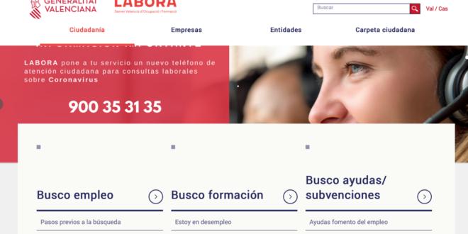 La Conselleria d'Economia Sostenible posa en marxa un web per a resoldre dubtes a empreses i persones treballadores autònomes sobre COVID-19