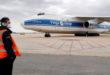 Arriba un quart vol amb material sanitari per a la CV
