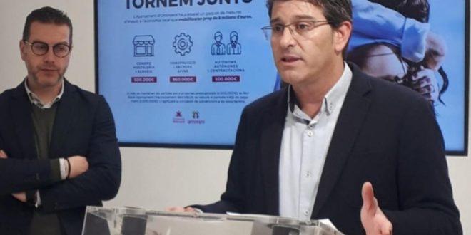 S'obri la concessió d'ajudes de fins a 1000 euros per als autònoms, pimes i micropimes afectats pel Covid-19