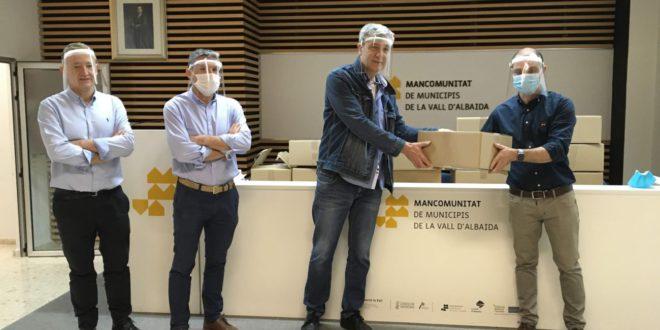 Plasvidavi dona protectors facials a la Mancomunitat de Municipis de la Vall d'Albaida