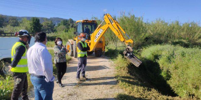 S'inicien els treballs de reparació de les sèquies afectades per la DANA