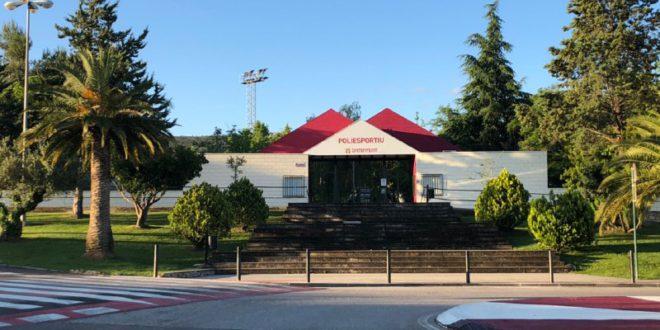 Ontinyent obrirà en la Fase 2 el pavelló, gimnàs i trinquet del Poliesportiu Municipal