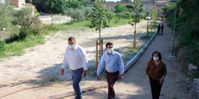"""Un nou passeig junt al Molí Descals completa un """"recorregut verd"""" de més d'1 quilòmetre"""