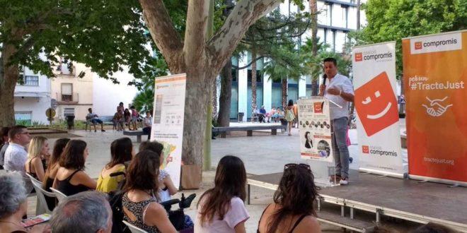 Compromís reclama que es recuperen les freqüències del tren Xàtiva-Alcoi