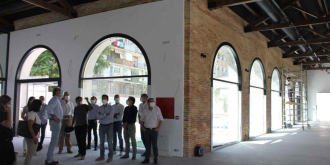 L'edifici   principal   del   Museu   del   Textil  estarà   a   punt aquest mes de juliol