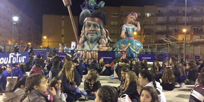 Suspesa la cremà de la falla Sant Josep d'Ontinyent