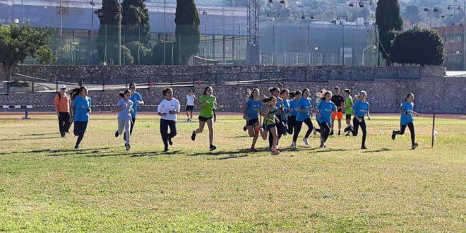 400 alumnes de 3 a 16 anys participen a Ontinyent en la I Fase dels Jocs Escolars