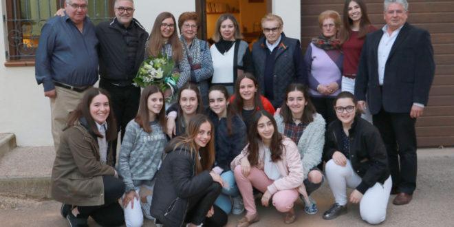 Silvia Alberto Guerola, regina de les festes de Sant Esteve 2018