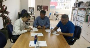 Acord de col·laboració en matèria mediambiental entre Grupo Innova, Reciclatges Guerola i COEVAL