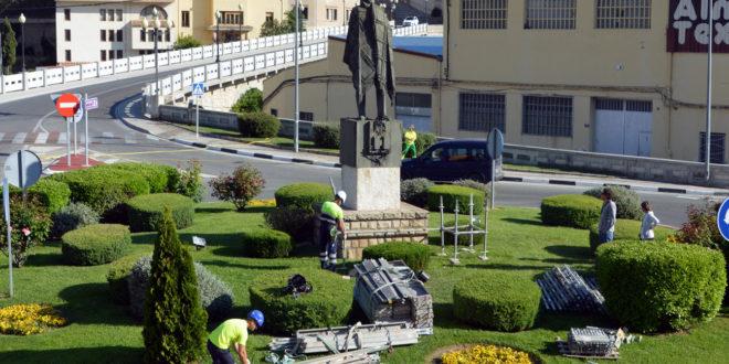 Bocairent inicia la restauració de l'Home de la manta