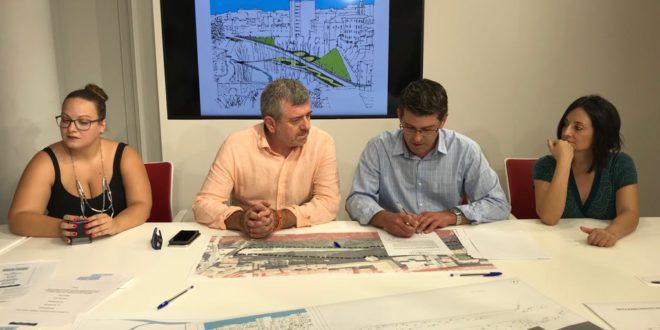 Ajuntament i Diputació recuperen per als vianants el marge dret del Clariano