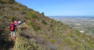 Beniatjar i Quatretonda inauguren el programa de senderisme 2017 a la Vall d'Albaida
