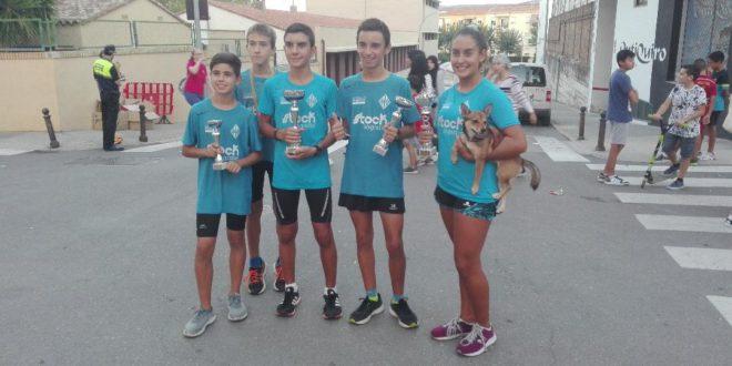 Els atletes del CAVA dominen el Cross de Sant Rafel