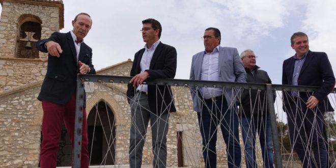 Diputació millora la seguretat i senyalització a l'Ermita de Sant Esteve