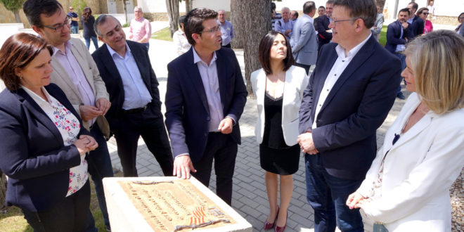 """Puig anuncia que """"Les pedres de la memòria"""" començarà a Ontinyent"""