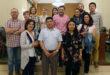 El cooperant internacional Marcos Rodas visita l'Ajuntament d'Ontinyent