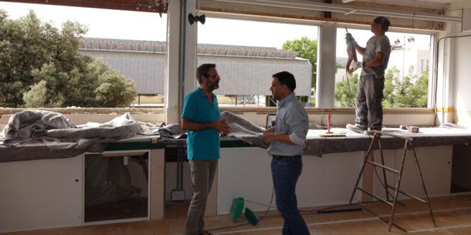 El col·legi Martínez Valls millora el seu aïllament tèrmic amb una ajuda de 130.000 euros de Diputació