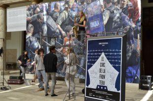 El circ de la frontera. Escena Erasmus