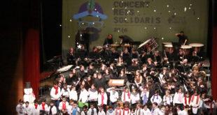 La Banda Simfònica d'Ontinyent recapta 1.368€ per a la investigació del Síndrome Ídic15